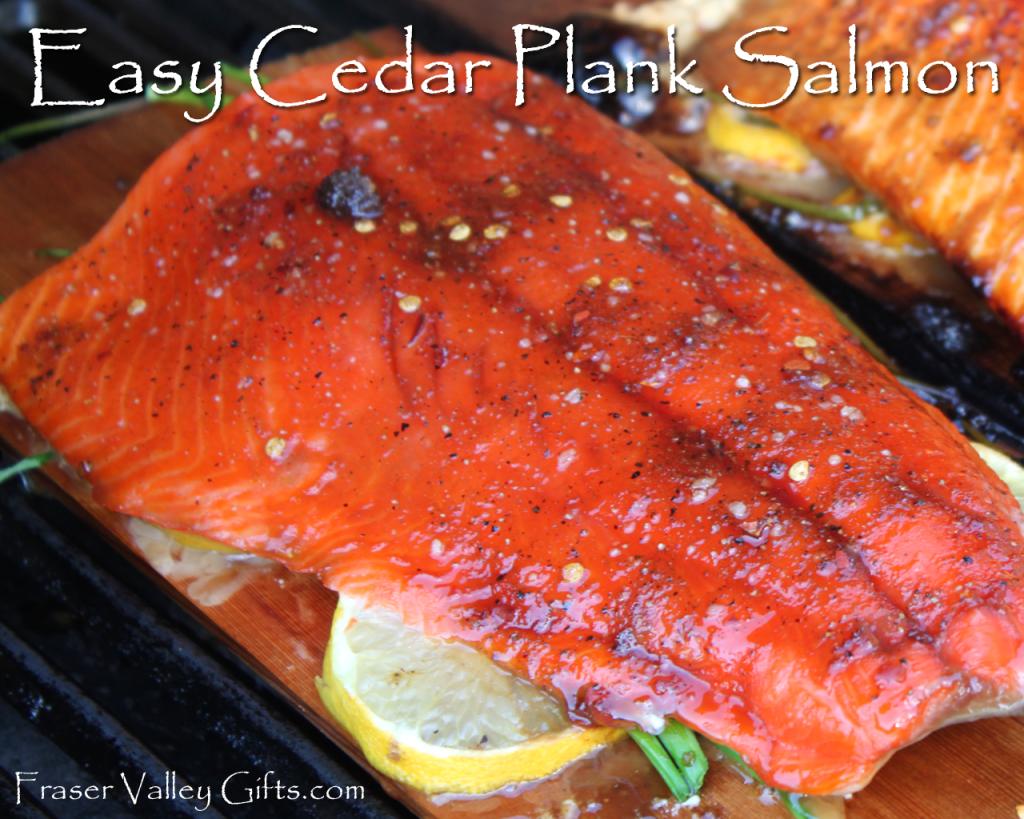 easy cedar plank salmon recipe