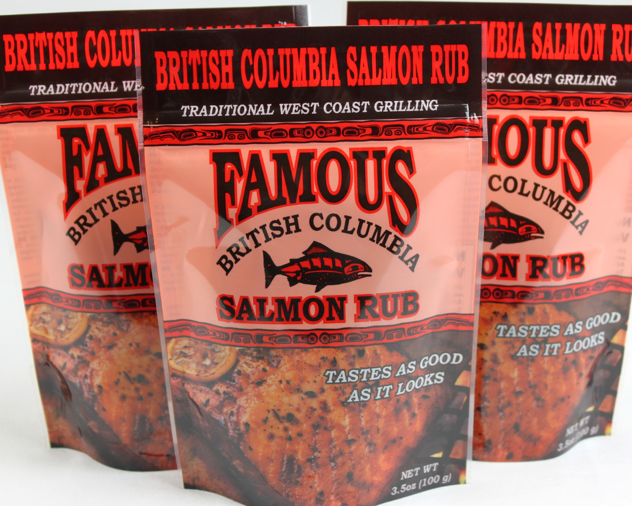 Famous Salmon Rub 3 Pack