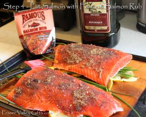 Famous salmon rub