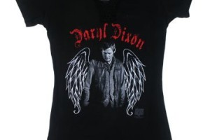 Walking Dead Shirt Ladies Junior Sizes For Daryl Dixon Fans