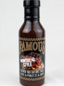 Famous Montreal Style Chickend and Rib BBQ Sauce[front]