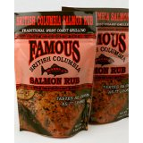 Famous Salmon Rub 2 Pack